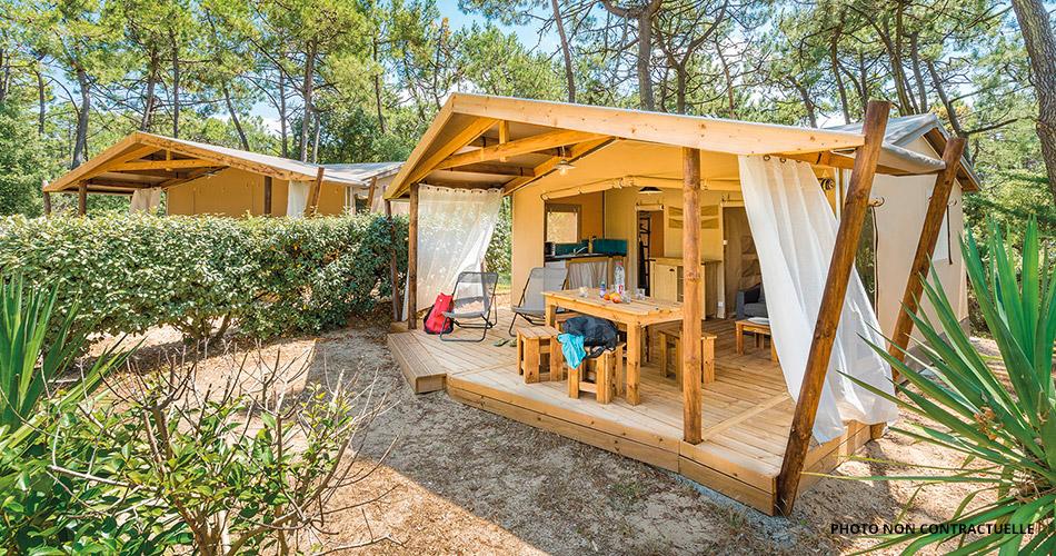 campings Corse les pieds dans l'eau