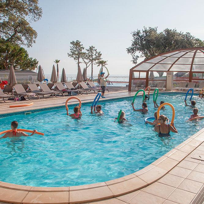 camping corse avec piscine